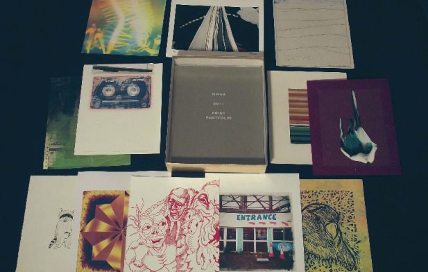 2011 NWAA print portfolio featuring Annette Nichols