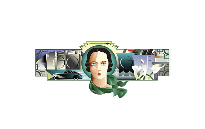 Google homage to Polish artist Tamara de Lempicka 5:16:18
