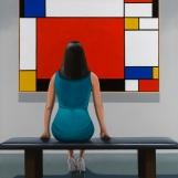 Jamie Perry - Mondrian Red