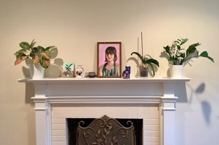 Annette Nichols Portrait Painting