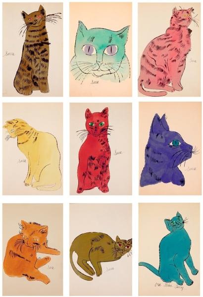 Warhol's cats