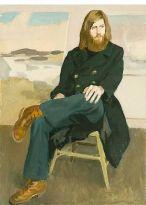 Fairfield Porter (1907–1975), Portrait of John MacWinnie, 1972, oil on canvas