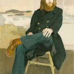 Fairfield Porter (1907–1975), Portrait of John MacWinnie, 1972, oil on canvas