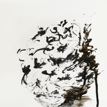 Annette Nichols, Untitled, 2019, ink on paper, 12 x 9 inches