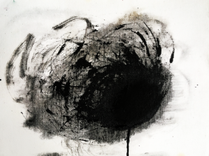 Annette Nichols, Untitled, 2019, ink on canvas, 9 x 12 inches