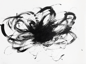 Annette Nichols, Untitled, 2021, ink on paper, 9x12 inches